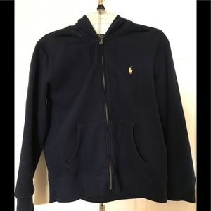 Polo Full-Zip Sweatshirt boys size 10-12